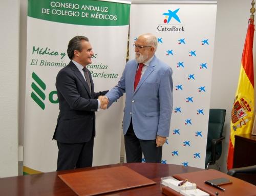"""El Consejo Andaluz de Colegios de Médicos convoca el """"Premio al mejor expediente MIR 2018"""" patrocinado por CaixaBank"""