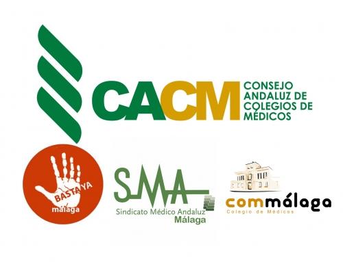 El Consejo Andaluz de Colegios de Médicos apoya a los médicos de Atención Primaria de Málaga